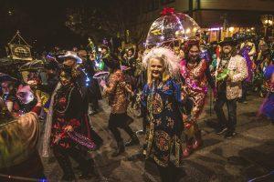 Portland Mardi Gras Parade @ MIssissippi Avenue