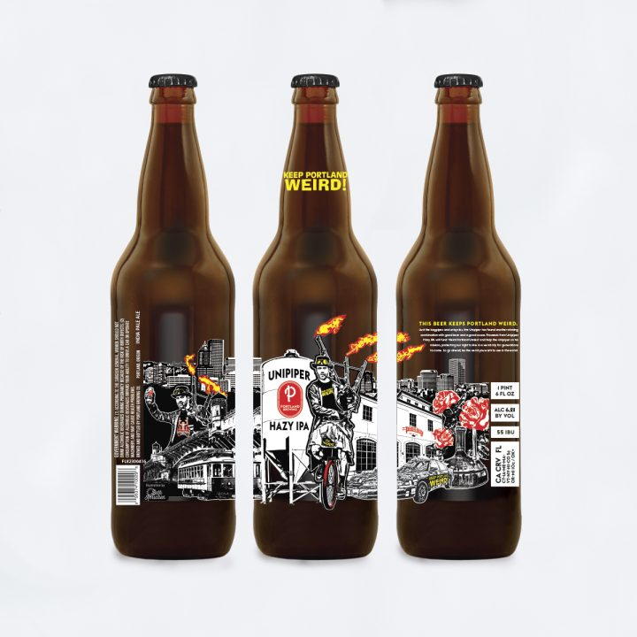 PORTLAND BREWING AND THE UNIPIPER KEEP PORTLAND WEIRD WITH A NEW COLLABORATION BEER