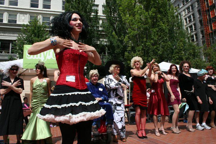 World Record Drag Queen Chorus Line